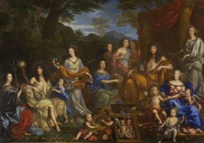 Louis-XIV-and-the-Royal-Family-1670